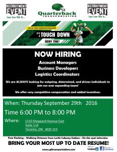 Recruiting Event!